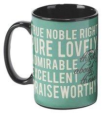 Stoneware Mug: Think (Psalm 126:3)