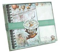Journal & Listpad Giftset (Vintage Balloon Collection Series)