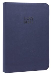 NKJV Gods Word to Go Compact Midnight Blue Leathersoft