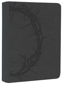 NKJV Large Print Compact Reference Bible Charcoal