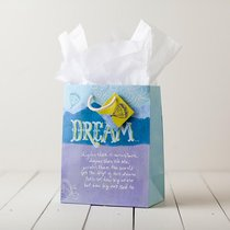 Gift Bag Medium: Dream (Incl Tissue Paper & Gift Tag)