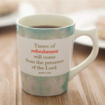 Classic Mug: Times of Refreshment, Acts 3:20