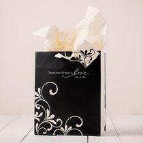 Gift Bag Medium: Romantic Love (Incl Tissue Paper & Gift Tag)
