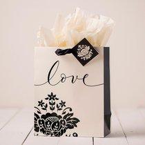 Gift Bag Medium: Love (Incl Tissue Paper & Gift Tag)