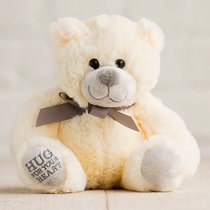 Hug For Your Heart Bear: Hug For Your Heart, Tan/Brown Ribbon