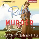 Rules of Murder (Drew Farthering Mystery Audio Series)