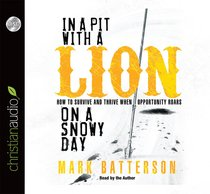 In a Pit With a Lion on a Snowy Day (Unabridged, 5 Cds)