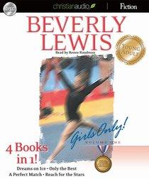 Books 1-4 (Unabridged, 8cds) (#01 in Girls Only Audio Series)