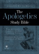 HCSB Apologetics Study Bible Hardcover