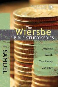 1 Samuel (Wiersbe Bible Study Series)