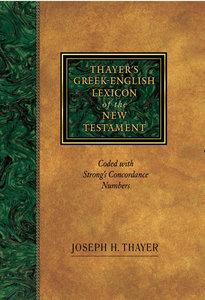 Thayers Greek English Lexicon