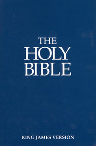 KJV Holy Bible Blue (Black Letter Edition)