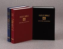 NRSV Pew Bible With Apocrypha Black