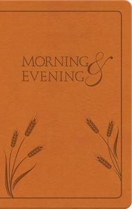 Morning & Evening: NIV Edition (Honey)