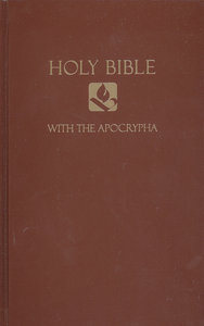 NRSV Pew Bible With Apocrypha Brown