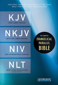 Kjv/Nkjv/Niv/Nlt Complete Evangelical Parallel Black
