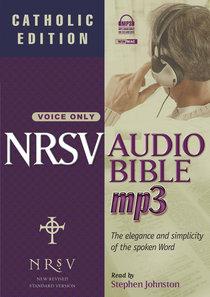 NRSV Audio Bible MP3 (Catholic Edition) (With Apocrypha)
