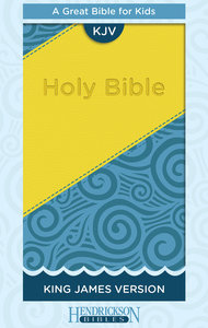 KJV Kids Bible Blue/Yellow Flexisoft