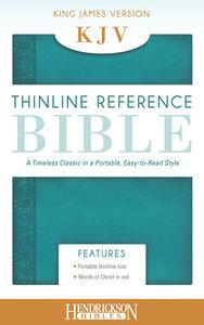 KJV Thinline Reference Bible Aquamarine Flexisoft