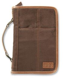 Bible Cover Aviator Suede Extra Large