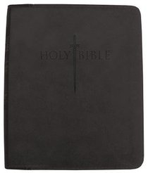 KJV Sword Study Personal Size Large Print Bible Black