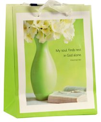 Gift Bag Small: Soul Finds Rest (Incl Two Sheets Tissue Paper & Gift Tag)