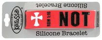 Silicon Bracelet Not Ashamed