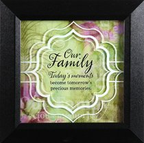 Truth Squared Plaque: Our Family