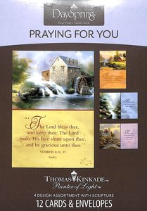 "Boxed Cards Praying For You: Thomas Kinkade - ""Painter of Light"""