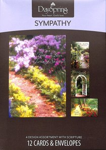 Boxed Cards Sympathy: Peaceful Paths