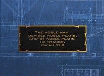Boxed Notes: Noble Blueprint, 2 Designs (Isaiah 32:8, 1 John 3:1)