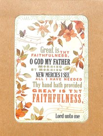 Boxed Notes Lyrics For Life: Faithfulness, Psalm 145:13