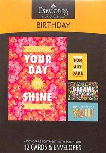 Boxed Cards Birthday: Joy