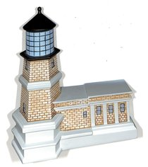 Lighthouse Moment of Faith Sculpture: The Lord is My Light (Psalm 27:1)