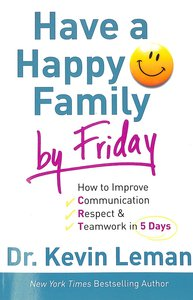 Have a Happy Family By Friday (Unabridged, 7 Cds)