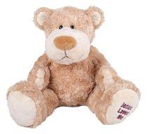 Ozzie Bear: Jesus Loves Me 33Cm