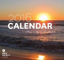 2016 Words of Wisdom Calendar, Verse For Each Day