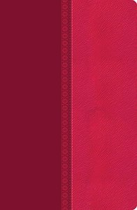 NKJV Giant Print Center-Column Reference Bible Pink (Red Letter Edition)