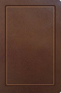 NKJV Ultraslim Reference Bible Tan Indexed (Red Letter Edition)