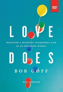 Love Does (Study Guide With Dvd)