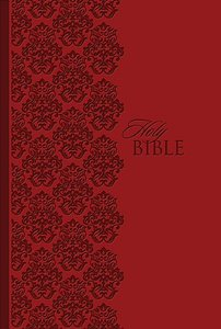 KJV the King James Study Bible Personal Size Leathersoft Ruby