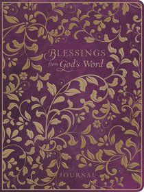 Premium Journal: Blessings From Gods Word Purple Leatherluxe