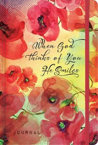Inspiration Journal: When God Thinks of You He Smiles