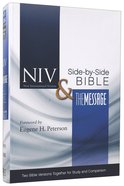 NIV Message Side-By-Side Bible