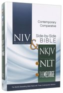 Niv/Nkjv/Nlt/Message Contemporary Comparative Side-By-Side Bible