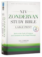 NIV Zondervan Study Bible Full Colour Large Print