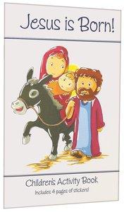 Activity Book & Stickers: Jesus is Born!