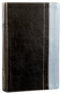 NIV Mens Devotional Bible Grey/Steel Blue