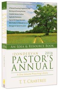 The Zondervan 2016 Pastors Annual