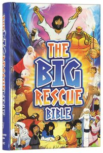 CEV the Big Rescue Bible (Cover & Illustrations 2014)